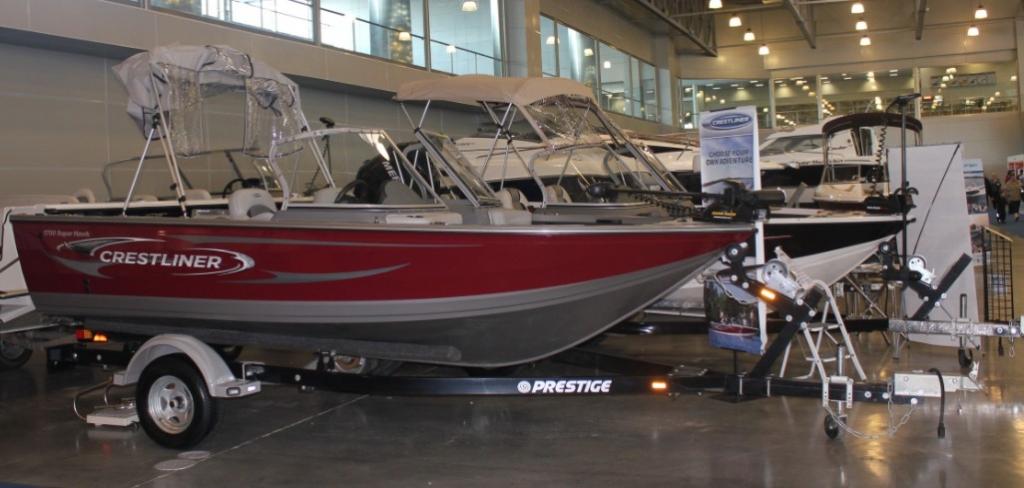 катера для рыбалки crestliner
